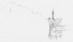 0503 Vignette Bleistift