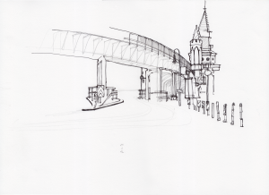 11 June, pen and pencil, 25 x 35 cm, 250 €.