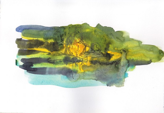 Morning at a pond 2