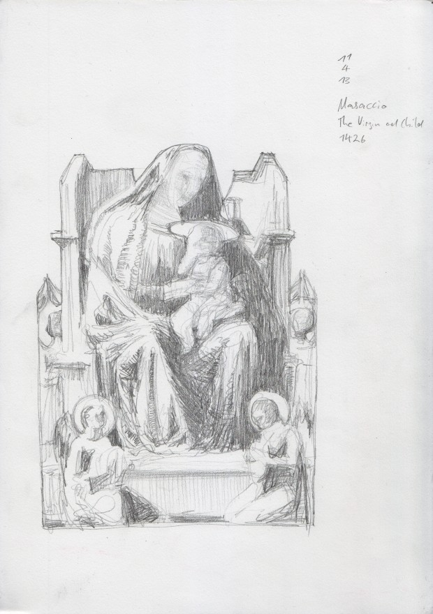 Copy after Masaccio