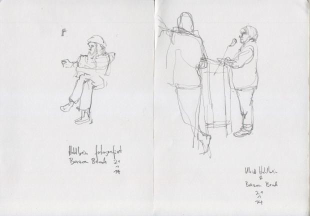 Ulrich Holbein und Bazon Brock